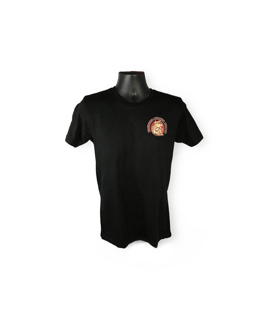 Men's Black Blunted Beaver Shirt