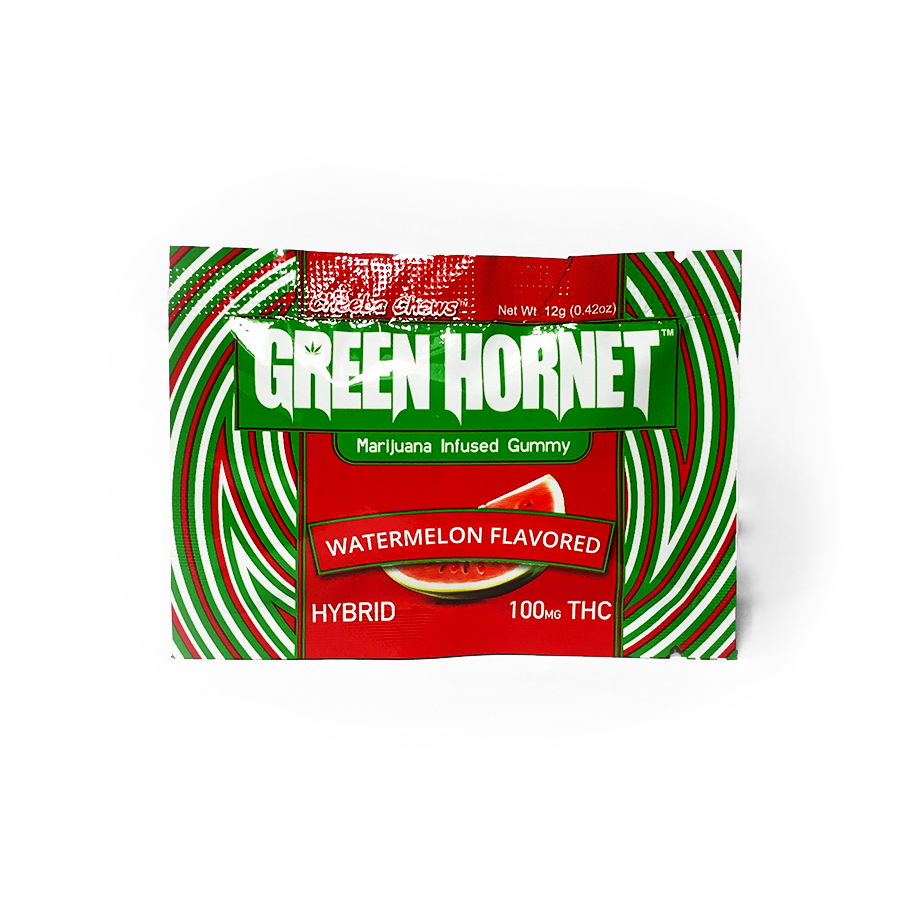 Green Hornet 'Watermelon' Hybrid Gummies