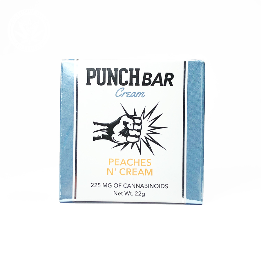 Punch Bar 'Peaches N' Cream' Cream Filled Bar