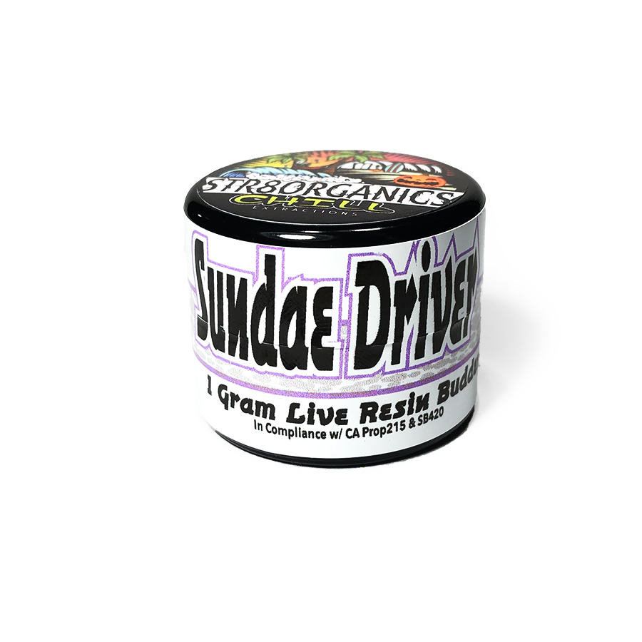 Chill Extractions 'Sundae Driver' Live Resin Budder