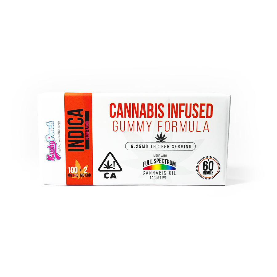 Kushy Punch 'Indica' Gummies
