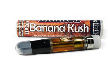 Blunted 'Banana Kush' Vape Cartridge