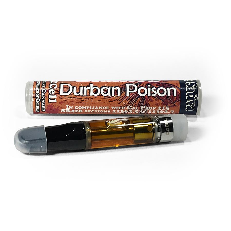 Blunted 'Durban Poison' Vape Cartridge