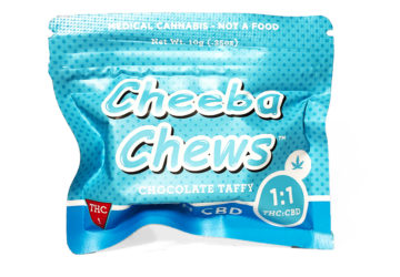 Cheeba Chews 'High CBD' Chocolate Taffy