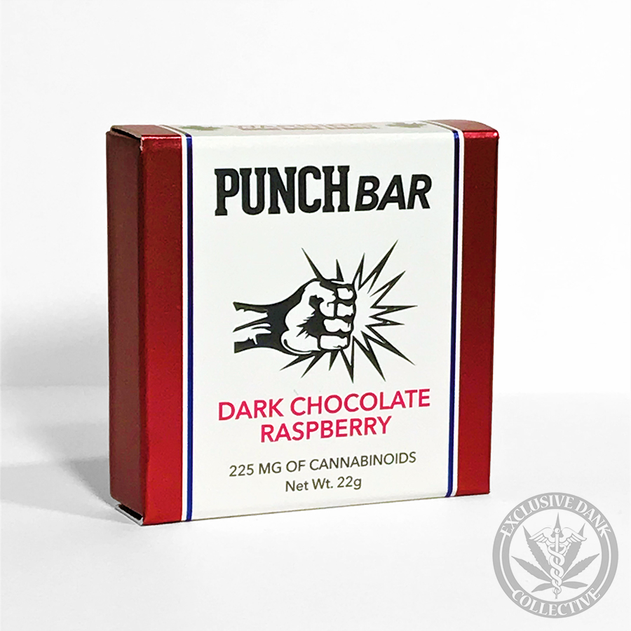 Punch Bar 'Dark Chocolate Raspberry'
