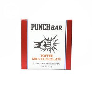Punch Bar 'Toffee Milk Chocolate'