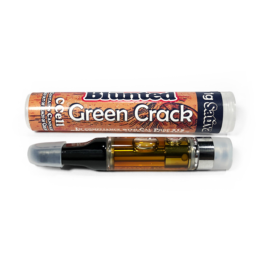 Blunted 'Green Crack' Vape Cartridge