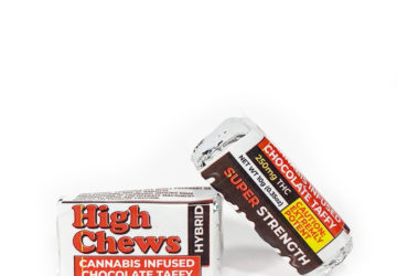 "High Chews ""Cannabis Infused Chocolate Taffy"""