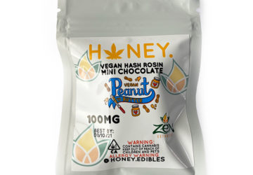 "Vegan Hash Rosin Mini Chocolate ""Peanut Butter"""