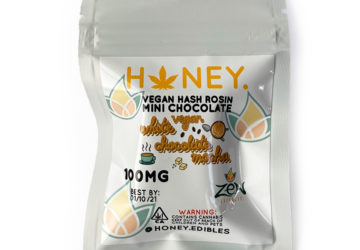 "Vegan Hash Rosin Mini Chocolate ""White Chocolate Mocha"""