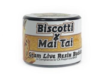 Organic Roots 'Biscotti X Mai Thai' Live Resin Budder