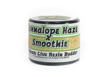 Organic Roots 'Cannalope Haze X Smoothie' Live Resin Budder