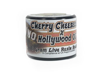 Organic Roots 'Cherry Cheesecake X Hollywood OG' Live Resin Budder
