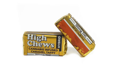 "High Chews ""Cannabis Infused Caramel Taffy"""