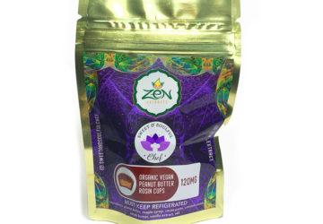 """Zen Extracts """"Vegan Peanut Butter Rosin Cups"""""""