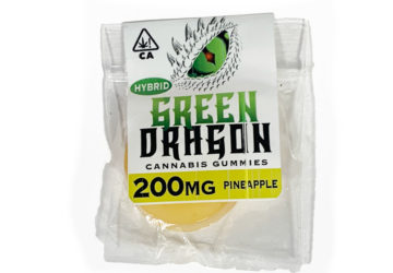Green Dragon 'Pineapple' Hybrid Gummy