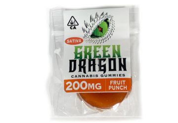 Green Dragon 'Fruit Punch' Sativa Gummy
