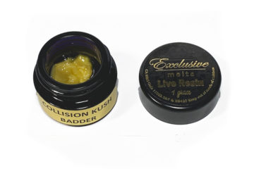 'Collision Kush' Badder by Exclusive Melts