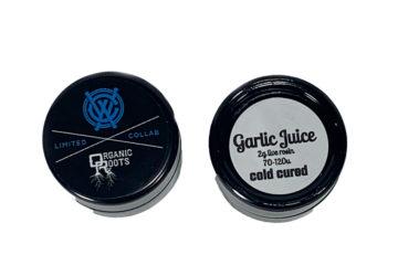 'Garlic Juice' 2g Live Rosin by Organic Roots X West Coast Alchemy