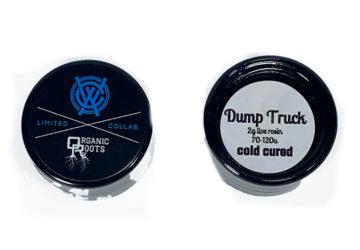 'Dump Truck' 2g Live Rosin by Organic Roots X West Coast Alchemy