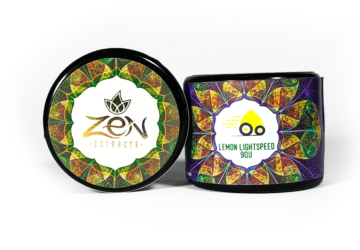 Zen Extracts 'Lemon Lightspeed' 90u Live Rosin