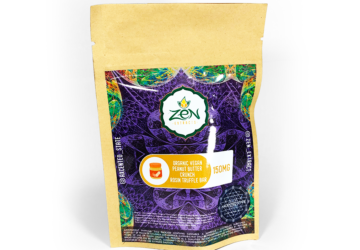 Zen Extracts 'Peanut Butter Crunch' Organic Vegan Rosin Truffle Bar