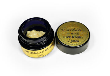 Exclusive Melts 'Triangle Kush' Live Rosin