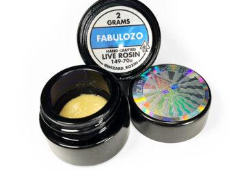 Wizard Rozin 'Fabulozo' Live Rosin 149-70u