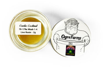 Ogre Farms 'Garlic Cocktail' Live Rosin
